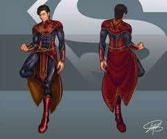 Superman Redesign by W-Orks on DeviantArt
