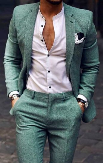 Bring some life to your men's wardrobe this summer with this beautiful green tailored suit! Come into our private showroom in Long Island New York. Giorgenti can custom make all your men's suits, tuxedos and men clothing needs. #summerstyle #menstyle #mensstyle #tailored #bespoke #dappermen #sartorial #menwithstyle #menwithstreetstyle #mensfashion #mensfashionstyle #giorgentiweddings #gentlemanstyle #menswear #mensoutfits #mensstyleguide #wedding #groom #groomsmen #suits #menssuits #mensuits