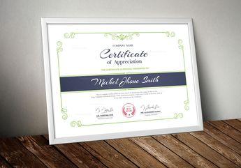 Perfect Certificate Design Templates 002932 - Template Catalog