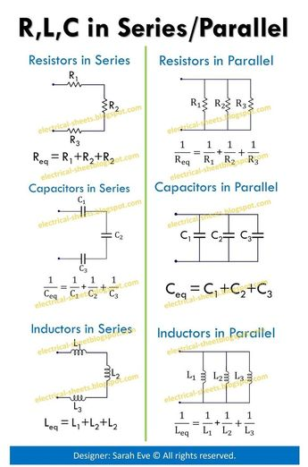 Image result for Electronic Formulas Cheat Sheet - #cheat #electronic #Formulas #Image #result #sheet
