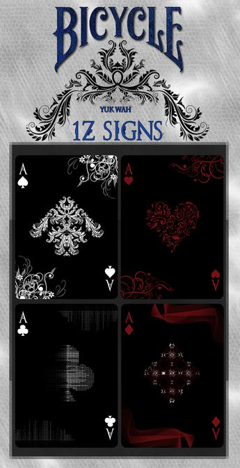 1Z SIGNS Bicycle® Playing Cards! by Yuk Wah — Kickstarter