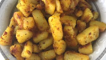 Spicy and crispy potato fry south indian style in 15 mins