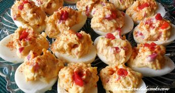 Pimento cheese deviled eggs are easy and delicious. They make great appetizers or side dishes for any event or occasion and everyone loves them.