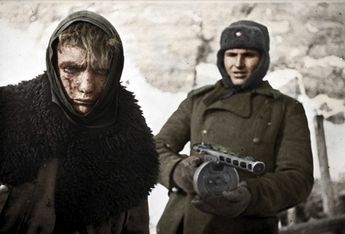 German prisoner of war. (stalingrad battle) - between 1942 and 1943.....[580x395]