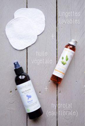 Démaquillage à l'huile : jojoba, coco, végétale, olive, amande douce