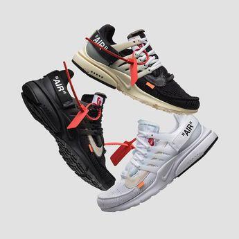 Mens size Nike Off-White Air Presto White / OW fake sneakers
