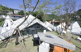 This looks like the world's funnest house in South Korea