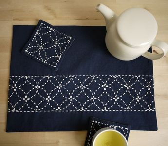 Get Patterns and Resources to Create Sashiko Japanese Embroidery
