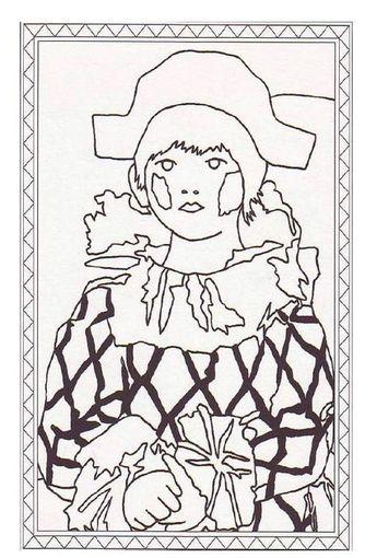 Paul En Habit Darlequin P Picasso