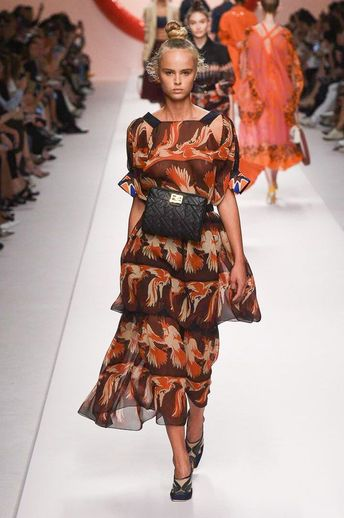 15c5671c184b8 Fendi Spring 2019 Ready-to-Wear Collection - Vogue  runwaymodelling