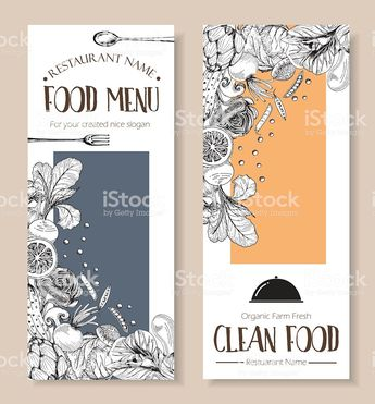 clean food farm fresh drawing doodle style ,cover book or flyer menu...
