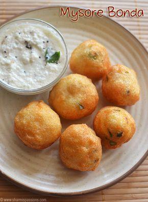Mysore Bonda Recipe / Ulundu Bonda Recipe
