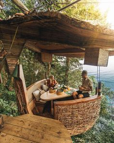 Breakfast view in Thailand. Lets get lost here 😍 Wow! #timeouthomes Tag someone who needs a vacay asap 🏕 Photo by League Travels