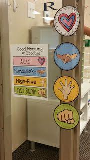 Morning Greetings: Hug, Handshake, High-Five, or Fistbump