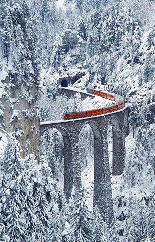 Most Amazing Railway, Switzerland , from Iryna