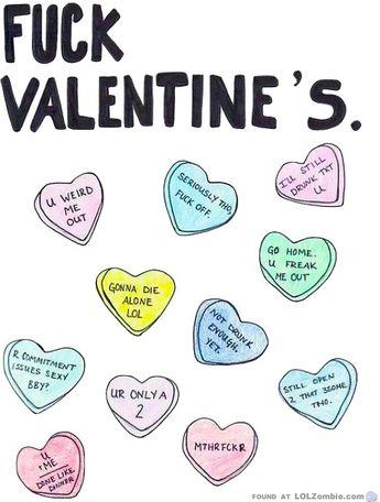 Anti Valentinstag Spruche Lustig Antivalentinstagspruchel