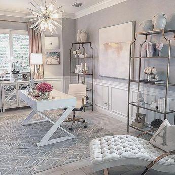 41 Perfect Contemporary Home Office Design Ideas