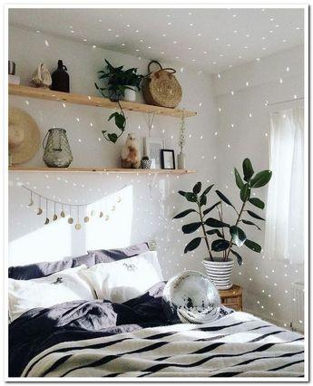50 Inspiring Cozy Bedroom Apartment Decor on A Budget #bedroomapartment