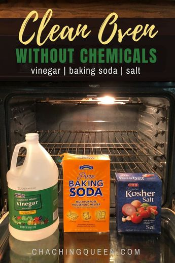How to Clean Oven with Vinegar and Baking Soda for Green Kitchen Cleaning