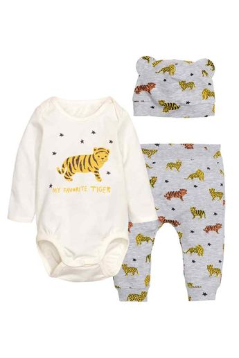 fc21a9a464f2b 3 +1 Free Pack Assorted Sleepsuits, read reviews and buy on