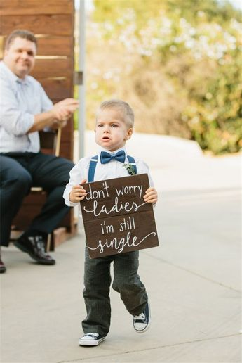 18 Ring Bearer Signs Ideas Too Funny Not To Try