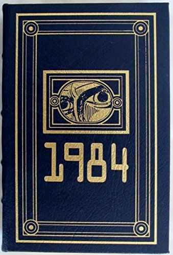 1984 NINETEEN EIGHTY-FOUR Masterpieces of Science Fiction Easton Press: George Orwell: Amazon.com: Books