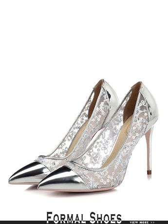 9f8117267a88 Cheap Curvy Lace Wedding Shoes In Gold With Shiny Sequin Toe  MSL-7812 -