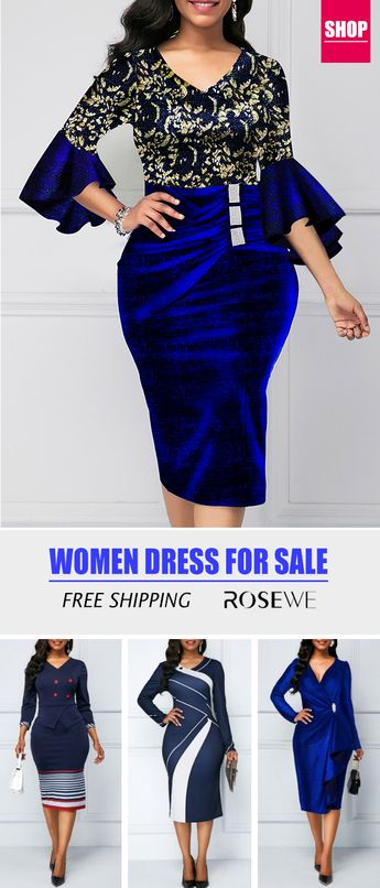 Three Quarter Sleeve V Neck Sparkle Sheath Dress. New sign-ups get 5% off for all first orders, free shipping & 30 easy return, check them out!