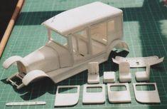 Scratchbuilding model cars