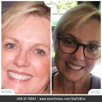 I am so proud of Julie Shahan Statham and her success with my #30daynewyouchallenge and Fit Rise program! ✔ 10-20 mins Recipes ✔ 15-minute Workouts ✔ Quick effective Feel Good Meditations ✔ Community support! • ✅ Join us in Our Fit Rise Tribe!  Visit danettemay.com/FitRise
