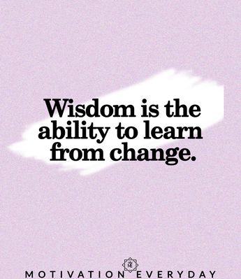 Learn from what has changed, changed in you, changed in world, changed in your part, expand your learning, that's the only thing that can help you.
