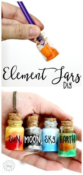 Create an Element Jar Necklace