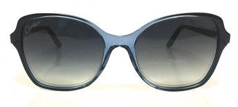 13a033d239d ESW00180 Buy this authentic Cartier Double C Décor Rectangular Blue  Composite Sunglasses On Sale at WatchWarehouse