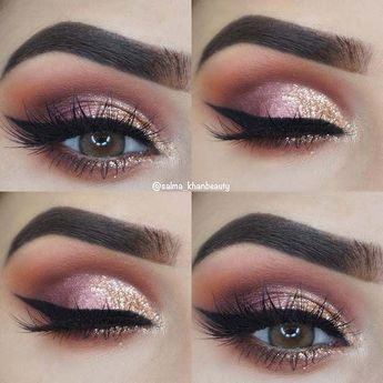 43 Glittery make-up ideas for NYE