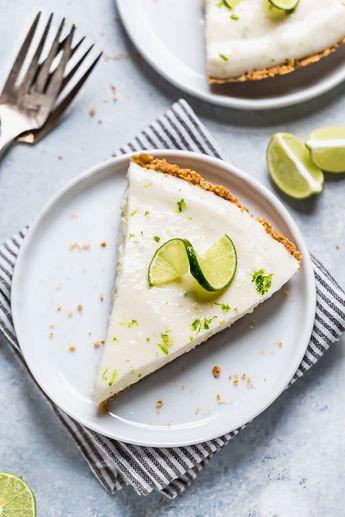 Key Lime Yogurt Pie