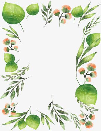 Aquarelle De Feuilles Une Fleur, Le Vecteur De Png, Aquarelle De Plantes, Aquarelle De Feuilles PNG et vecteur pour téléchargement gratuit