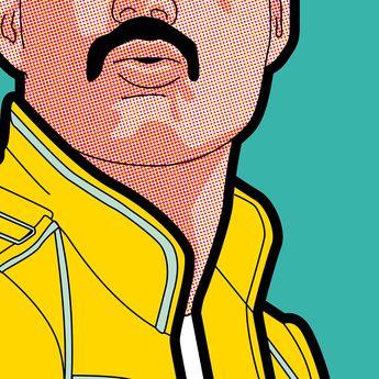 POP ICON - Freddie Mercury