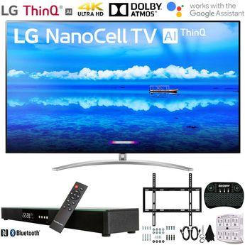 "LG 65"" 4K HDR Smart LED NanoCell TV w/ AI ThinQ (2019) + 31"" Soundbar Bundle | New | $1,996.99"