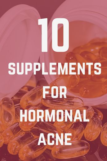 10 popular supplements for hormonal acne tested