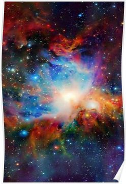 'Hubble Telescope (Orion Nebula)' Poster by RedishBeaks11