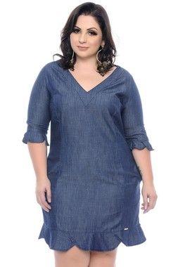 4469ade48 Melhores Modelos de Vestido Plus Size - Você sempre na moda