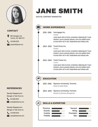 Free Resume & CV Maker | Creative Templates to Make an Impression
