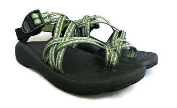 b9c4de83b315 Details about  100 Chaco Women size 8 Ecothread Multi Strap Sandals Shoes  Comfort Walk Blue