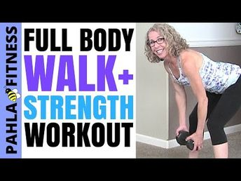 Total Body STRENGTH TRAINING for Beginners + Beyond   20 Minute STANDING Dumbbell Workout