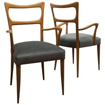 Pair of Paolo Buffa Armchairs