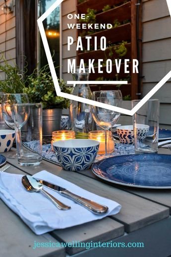 One-Weekend Patio Makeover