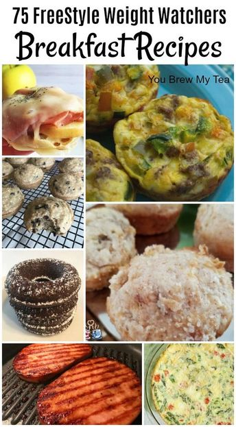 75 FreeStyle Weight Watchers Recipes for Breakfast