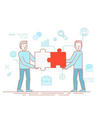 Trabajamos para conseguir buenas ideas que ayuden a hacer crecer los negocios de nuestros clientes.  Trabajamos para conseguir buenas ideas que ayuden a hacer crecer los negocios de nuestros clientes. Nos encargamos de definir la imagen de su empresa y controlar la producción de todos los contenidos publicitarios y promocionales. Estudiamos sus necesidades para plantear campañas digitales efectivas y nos encargamos de gestionar de manera integral su presencia en los medios de comunicación tradic