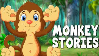 Panchatantra Stories - Monkey and the Crocodile - Animal St