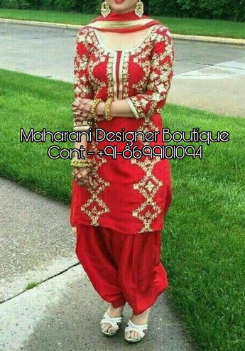 Punjabi Suits Online Shopping | Maharani Designer Boutique